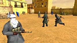 Mali vs MNLA Tuareg Variations with random texmod