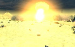 Nuclear weapon explosion - modified fx