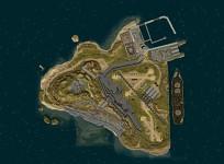 base on island