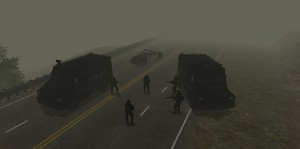 Swat Team in Silent hill.