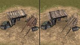 telega2 and awning_wood