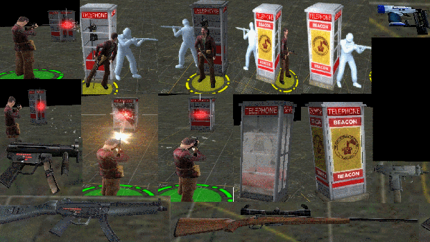New Phone Booth/Weapons