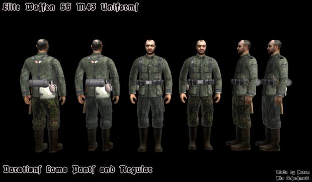 Waffen SS HD textures - By shachmatt