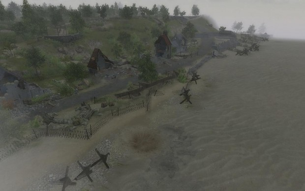 Historical Omaha Beach (Dog Green Sector)