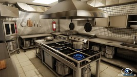 Industrial Kitchen - by Felipe Soares