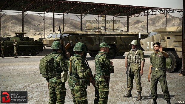 RHS MFN Troops, Tochka-U & BMPs