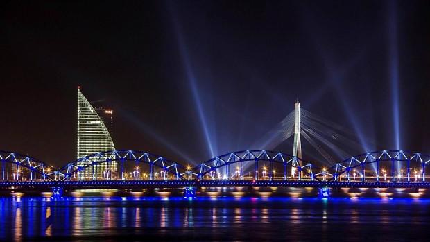 Night in Riga