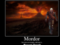 Geralt can walk into Mordor