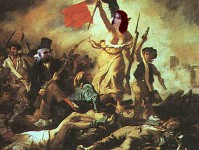 Triss/Liberty leading the people