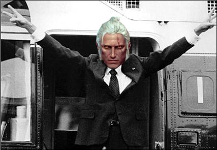 Geralt/Nixon and his Signature V symbol
