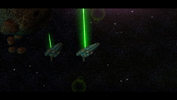 Beam laser weaponry