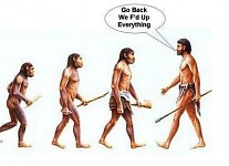 Evolution humor