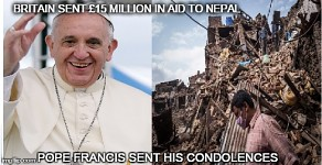 Pope and Nepal