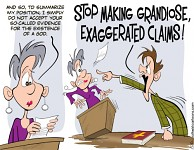 Grandiose Exaggerated Claims