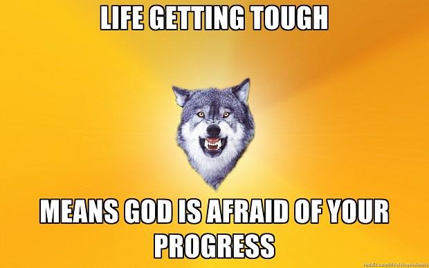 Progressing through life...Yeah,whatever...