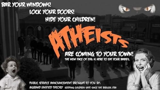 ATHEISTS!!!
