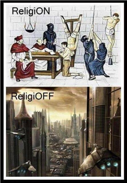 Religion on/off