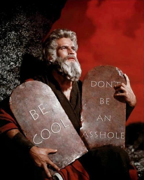 The real Commandments