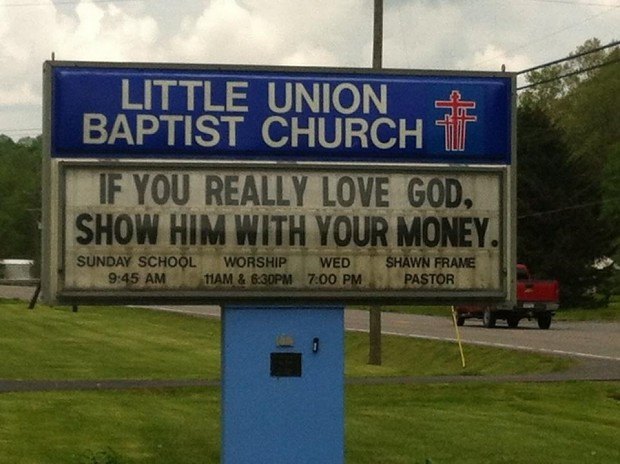 God Loves Money