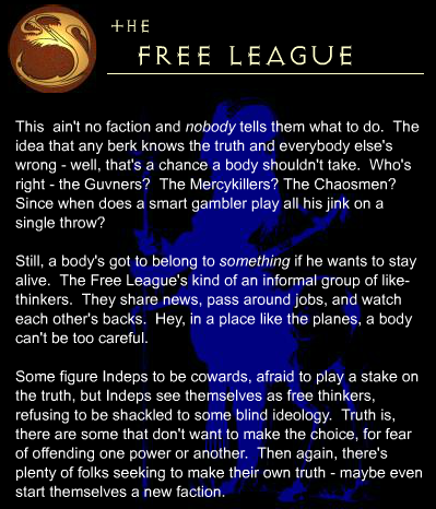 Free League faction