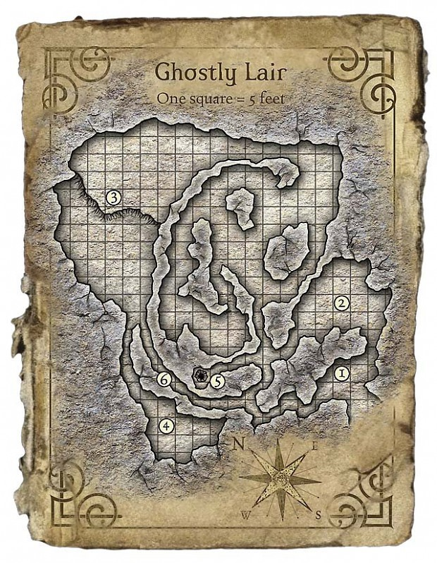 Ghostly Lair by Mike Schley