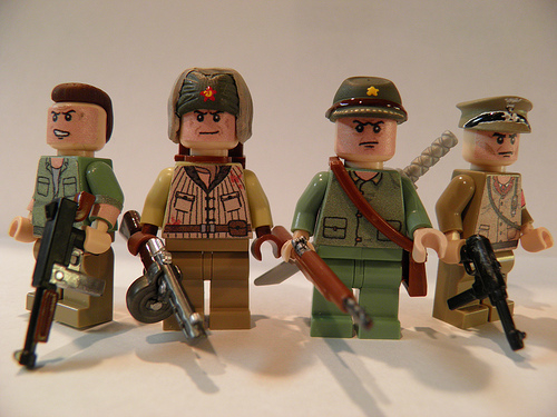 Lego Zombie charachters
