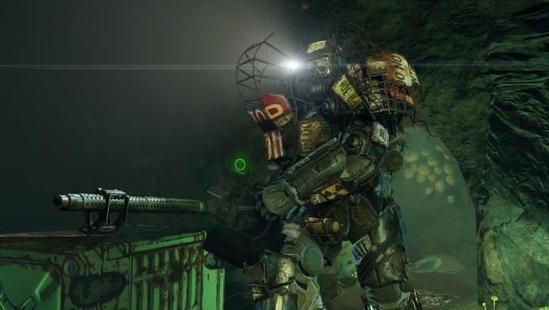 fallout 4 raider power armor build :)
