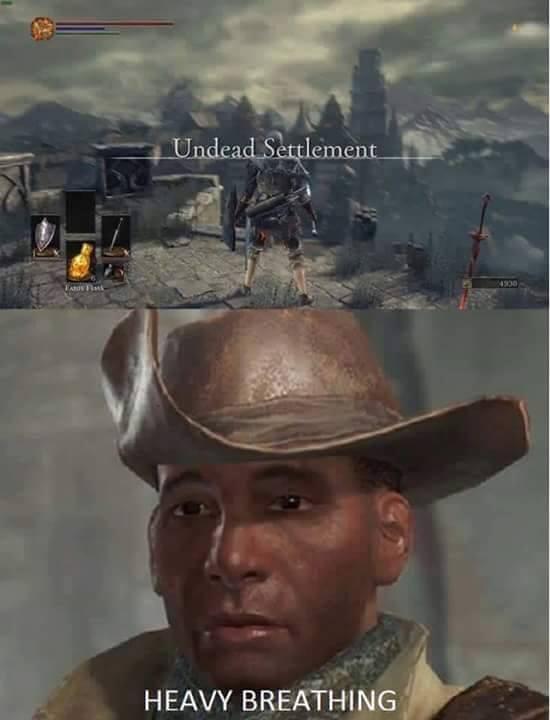 Undead settlement