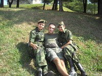 Serbian Girls in Army