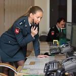 Lithuanian Policewoman