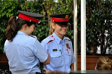 Spanish policewomen
