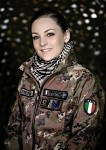 Italian Female Soldier