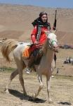 Iranian Native horse-rider.