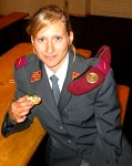 Swiss female soldier