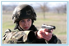 Ukraine Female Soldiers