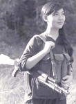Vietnamese female partisan