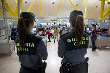Spanish Civil Guard agents