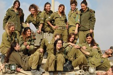 Girls in Army around the Globe -3-