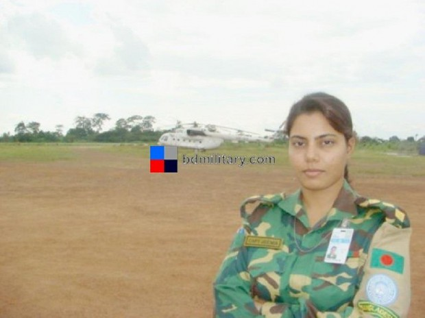 More Bangladesh Army women's.