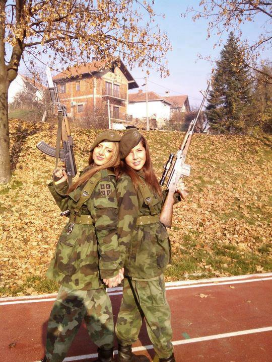 Two Serbian Soldiers