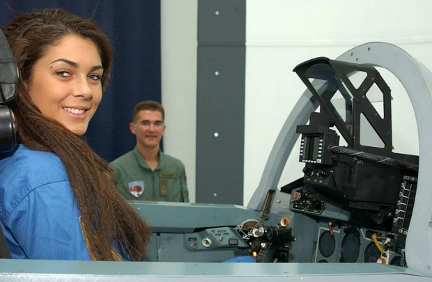 Serbian Female Pilot