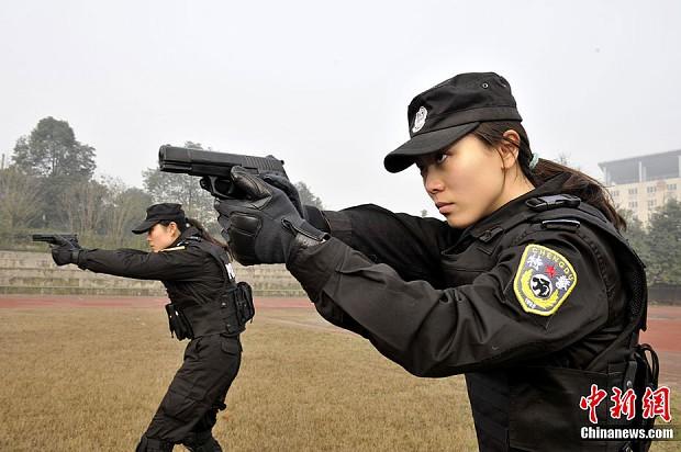 Chinese Policewomen
