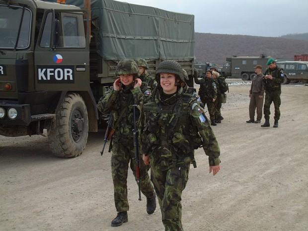 Czech Female Soldiers