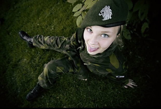 finland female soldier image females in uniform lovers
