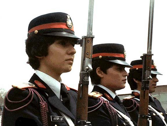 Imperial Iranian Policewomen/Soldier