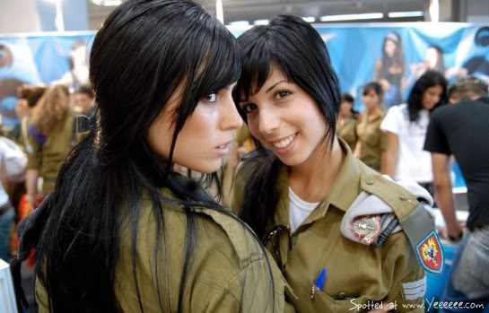 Israeli Army Beauties