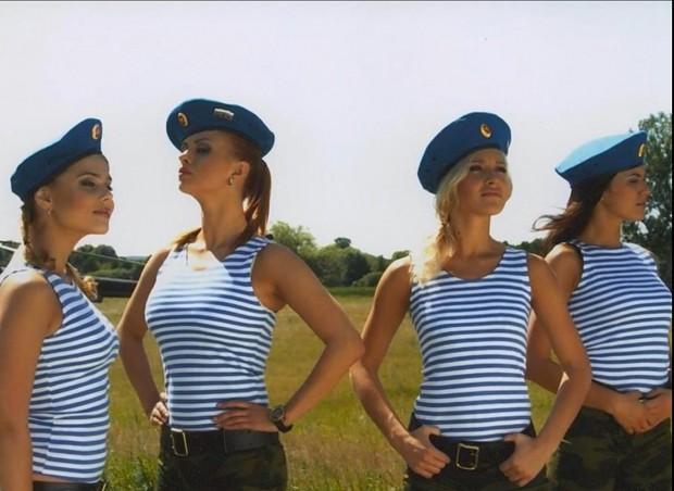 Ukrainian Women Army Russian VDV image - Fe...