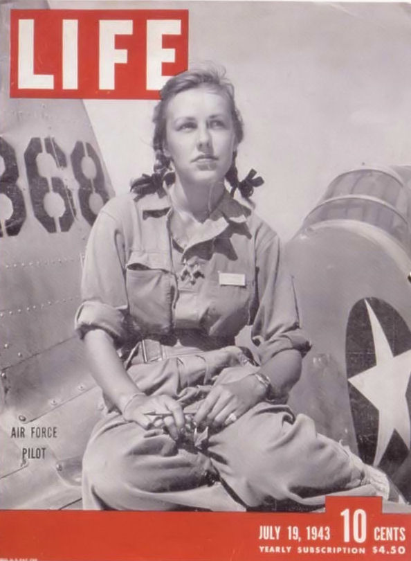 Shirley Slade, WASP Trainee - Life Magazine, 1943