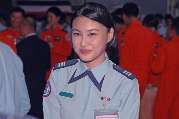 Taiwan Female Soldier