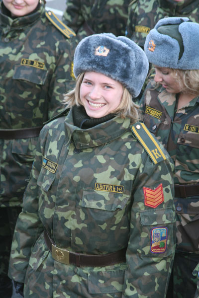 ukraine female soldier image females in uniform lovers